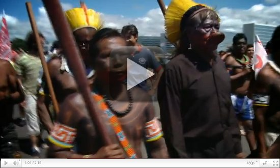 VIDEO: Last stand against the Belo Monte Dam!