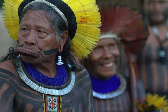 Stand with Chief Raoni - Defend the Xingu - Stop the Belo Monte Dam!