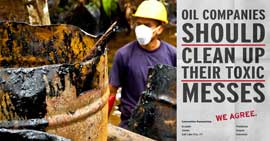 Send Chevron CEO John Watson a wake-up call now!