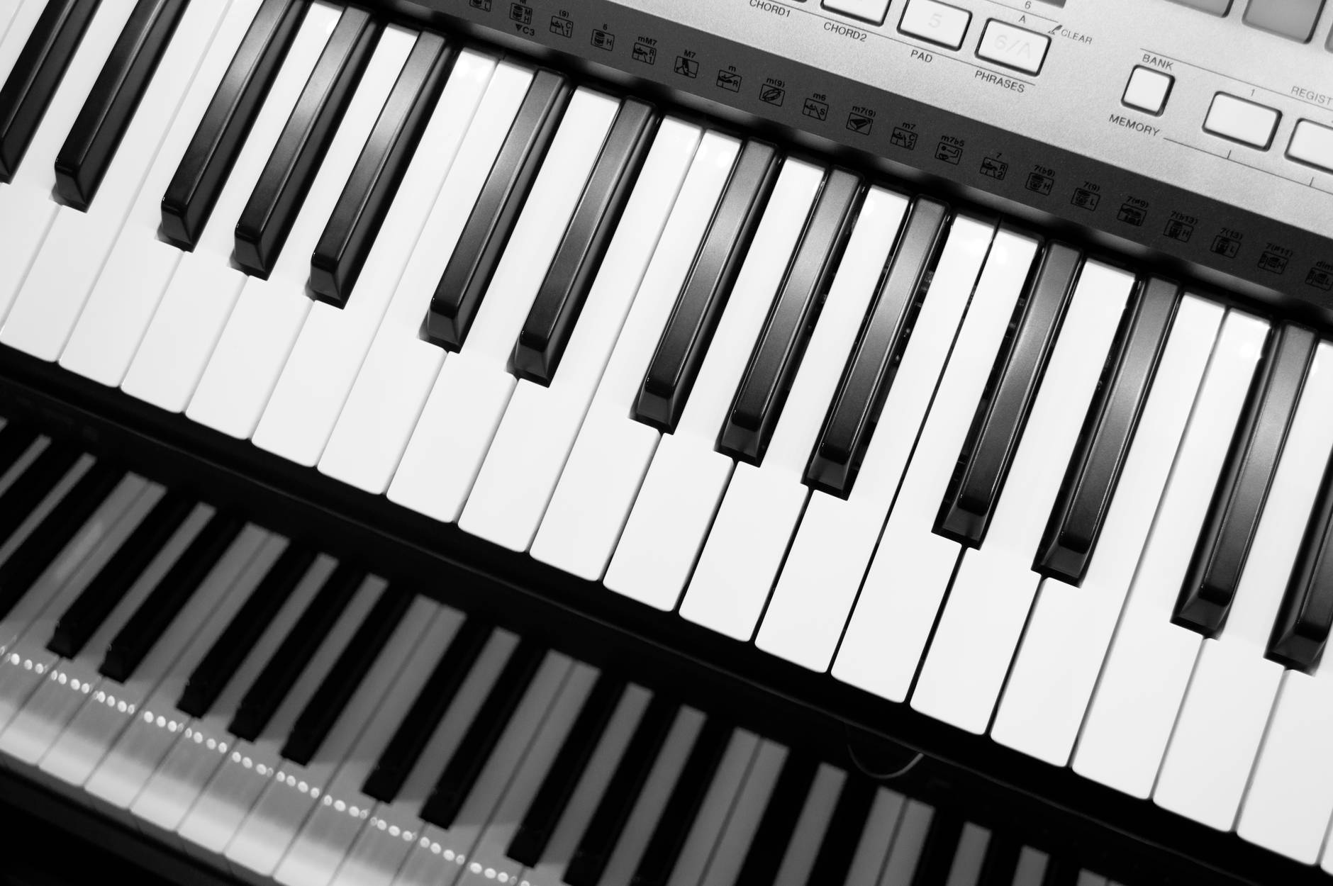 notes music piano keyboard