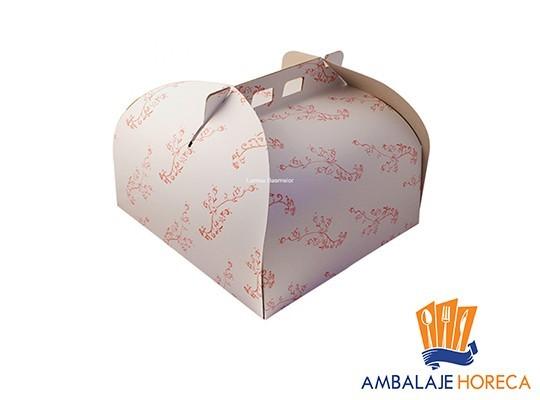 Cutie din carton pentru tort alba, 50buc/set