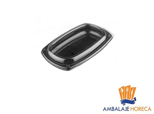 Platoua din plastic oval negru 295