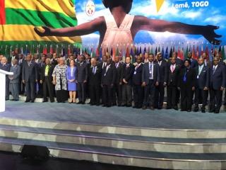 Session du Conseil des Ministres ACP et du Conseil des Ministres conjoint ACP-UE à Lomé au Togo