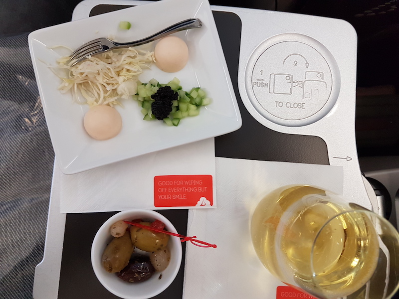 business-food Zo vlieg je in business class met Brussels Airlines