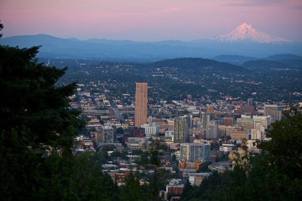 Skyline-Mt-Hood 'Keeping it weird' in Portland