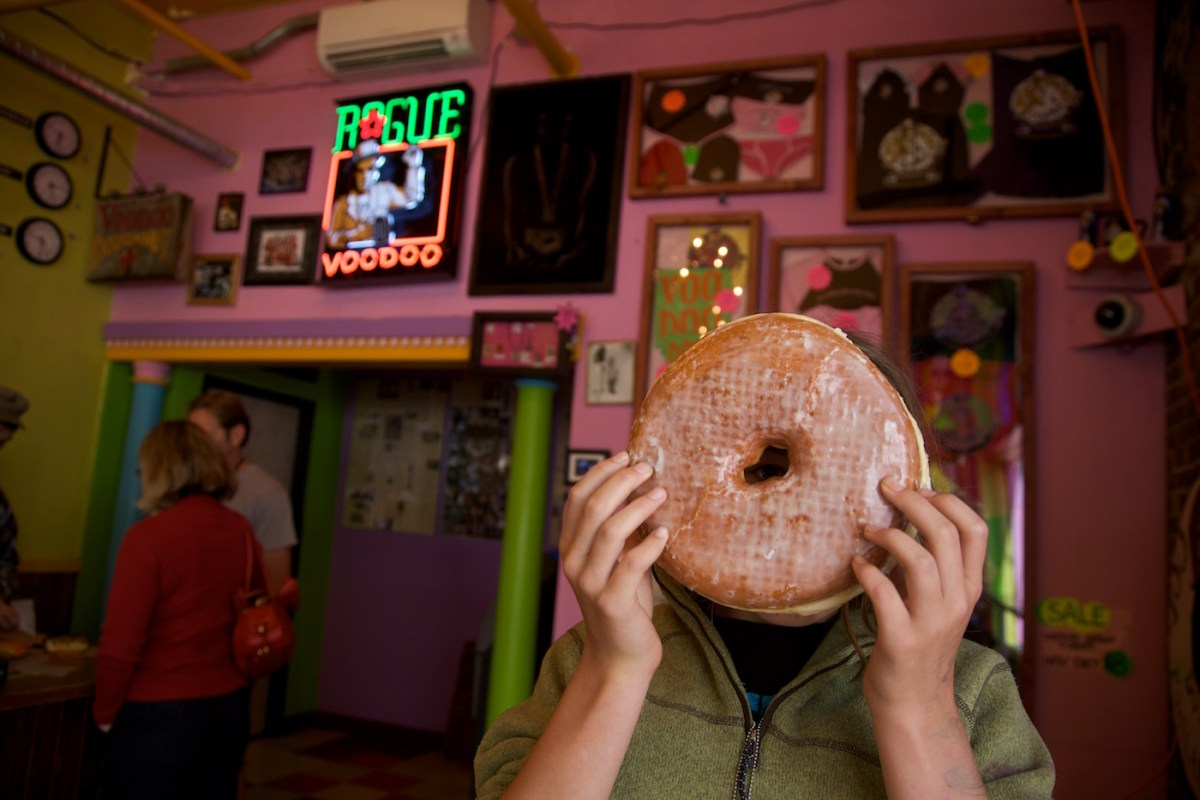 Voodoo.big-donut 'Keeping it weird' in Portland