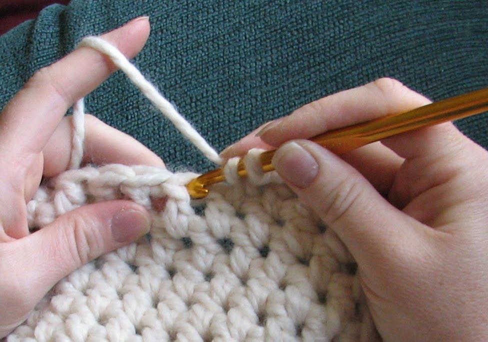 Double Crochet variation - Ambassador Crochet
