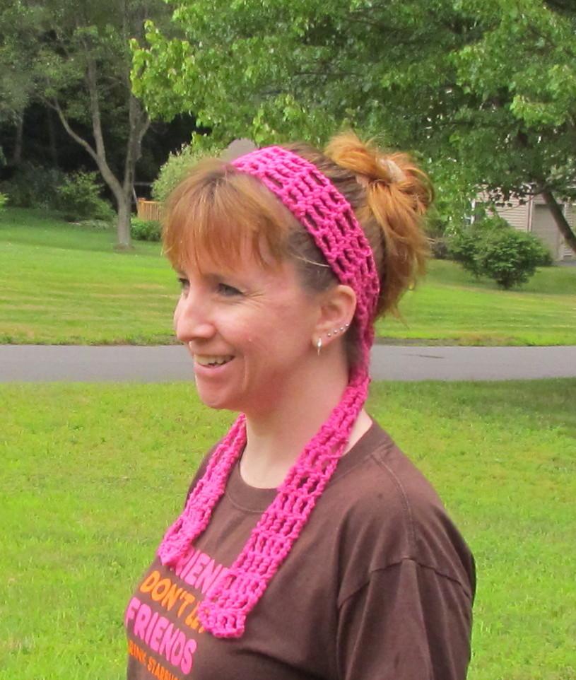 Mesh Headband Free Crochet Pattern Ambassador Crochet
