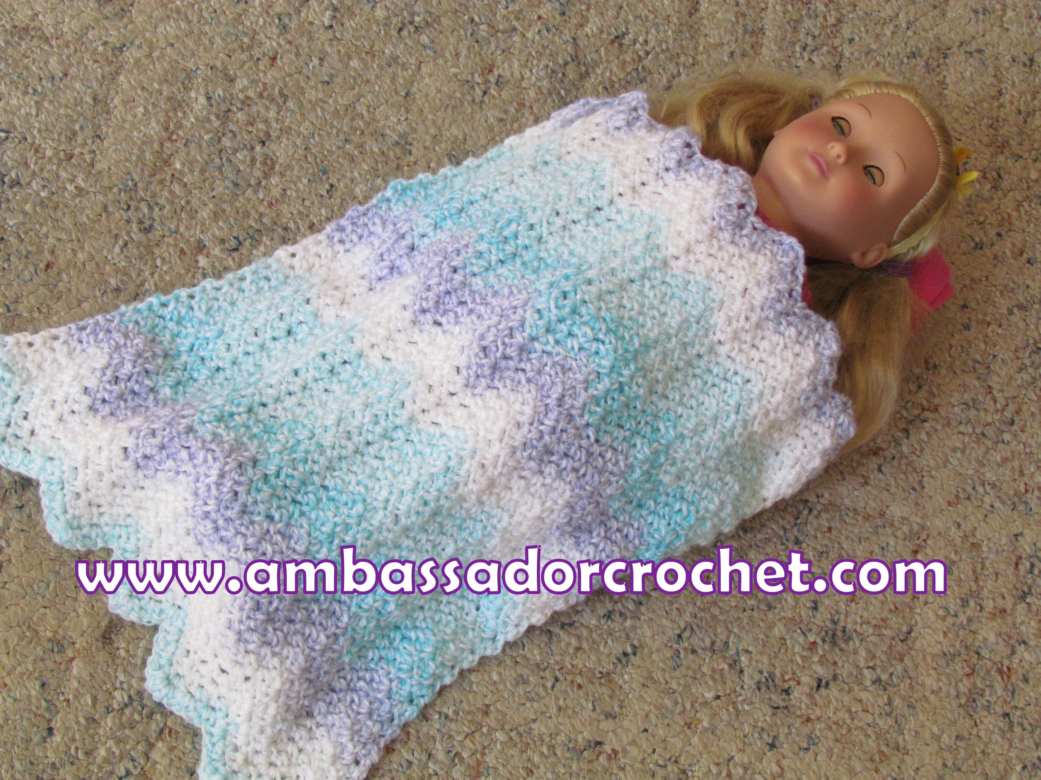 Ravelry: Sweet Doll Bed pattern by Barb Padwicki | 3240x4320