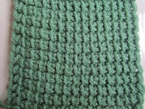 Tunisian Simple Stitch - TSS