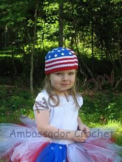 American Flag Patriotic Hat