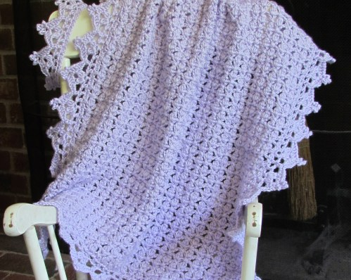 Baby Afghan & Crown Pattern