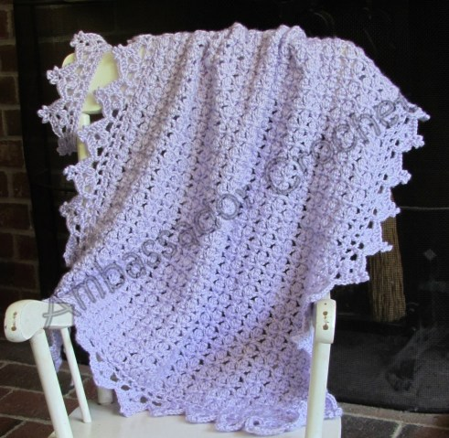 Once Upon A Time Afghan & Crown Pattern Set