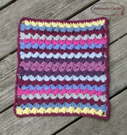 Colorburst afghan square