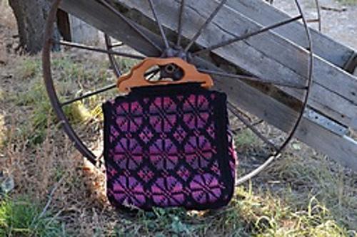 Annabel Bag - Fair Isle Tunisian Crochet book review