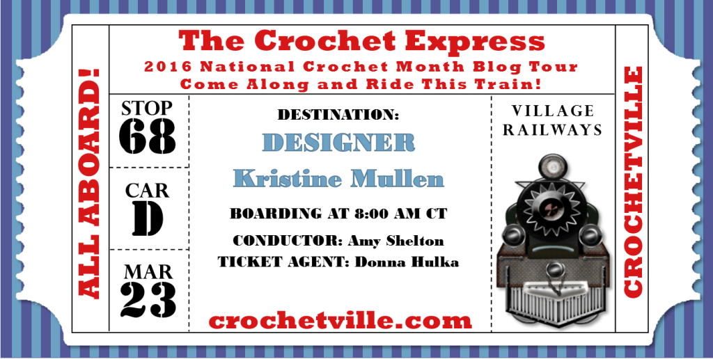 National Crochet Month - The Crochet Express #NatCroMo