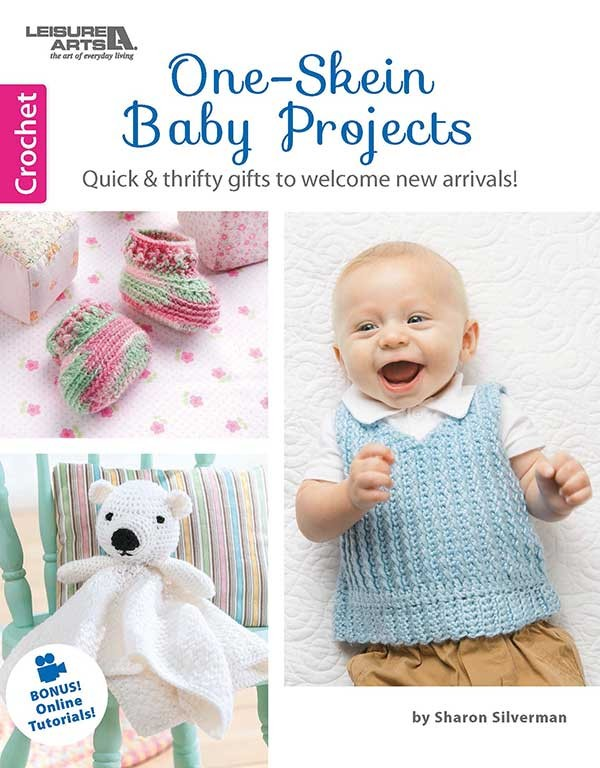 One Skein Baby Projects by Sharon Silverman - book review & giveaway