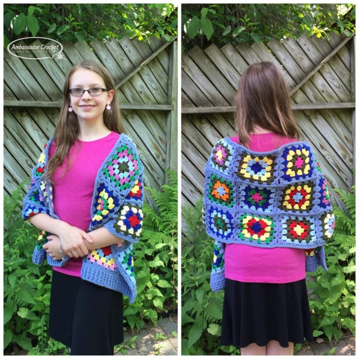 Designing Your Own Crochet Pattern Series - Finding the Perfect Design Ideas - Vintage 60's Prayer Shawl designed using my aunt as inspiration.