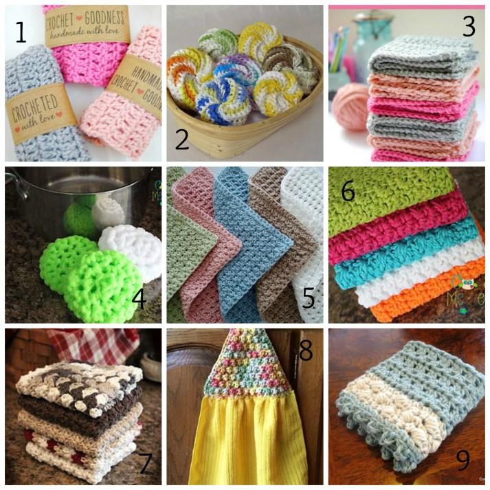 Craft Fair Projects - Part 1 - Tawashi & Dishcloth Roundup