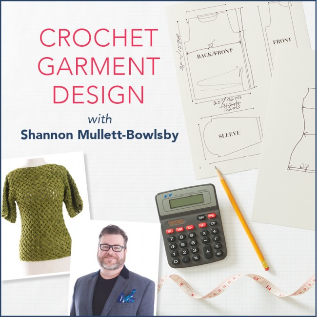 Crochet Garment Design - course review by Ambassador Crochet. Learn how to design garments - from the very first beginning step to the very final finished product and everything in between.