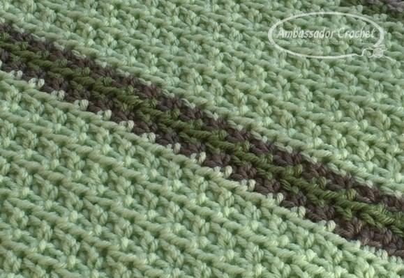 Soft & Squishy Baby Blanket - Free Crochet pattern by Ambassador Crochet