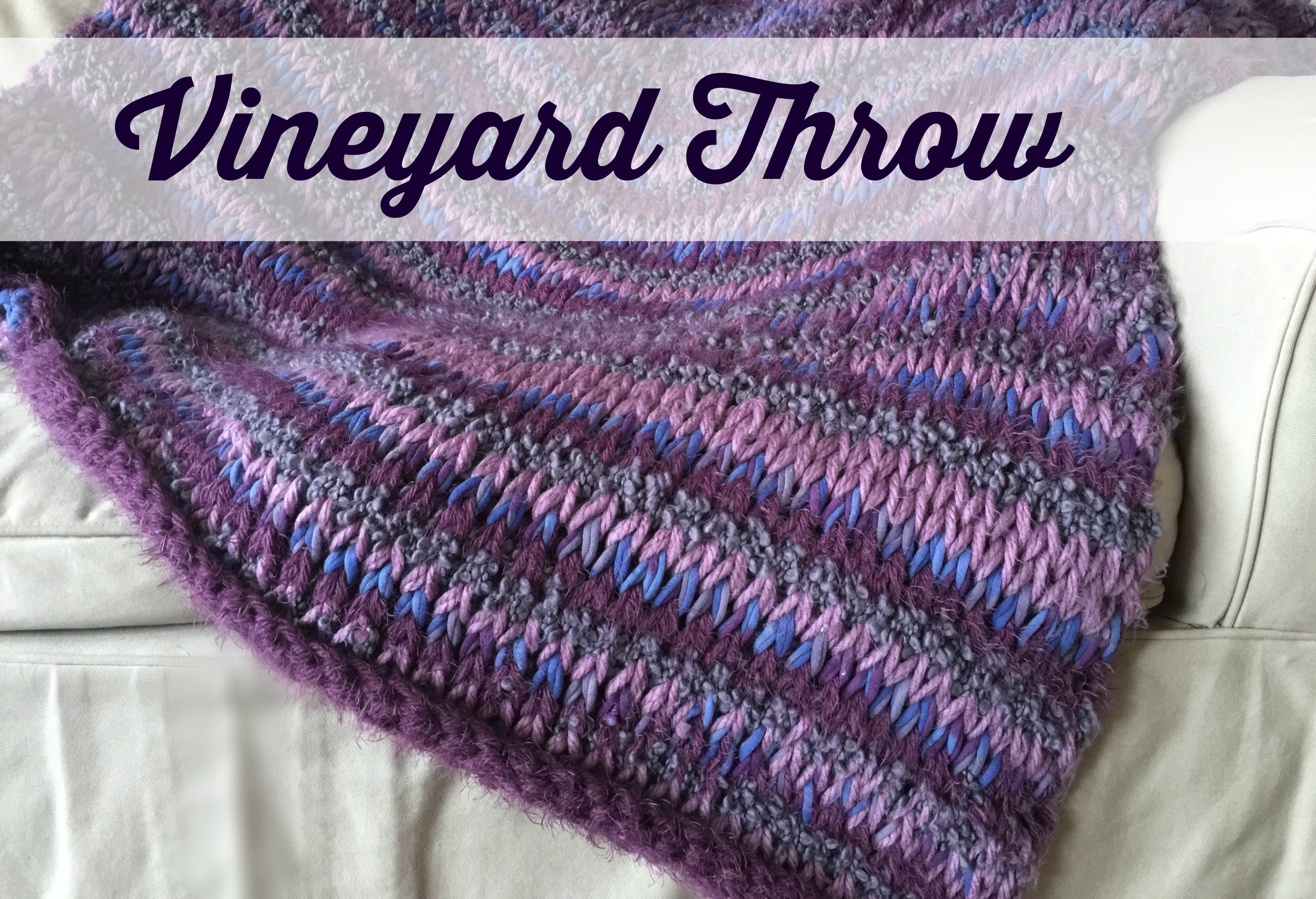 Vineyard Throw Crochet Pattern Free Ambassador Crochet