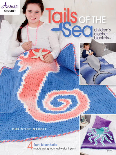 Tails of the Sea: Children's Crochet Blankets - book review by Ambassador Crochet.