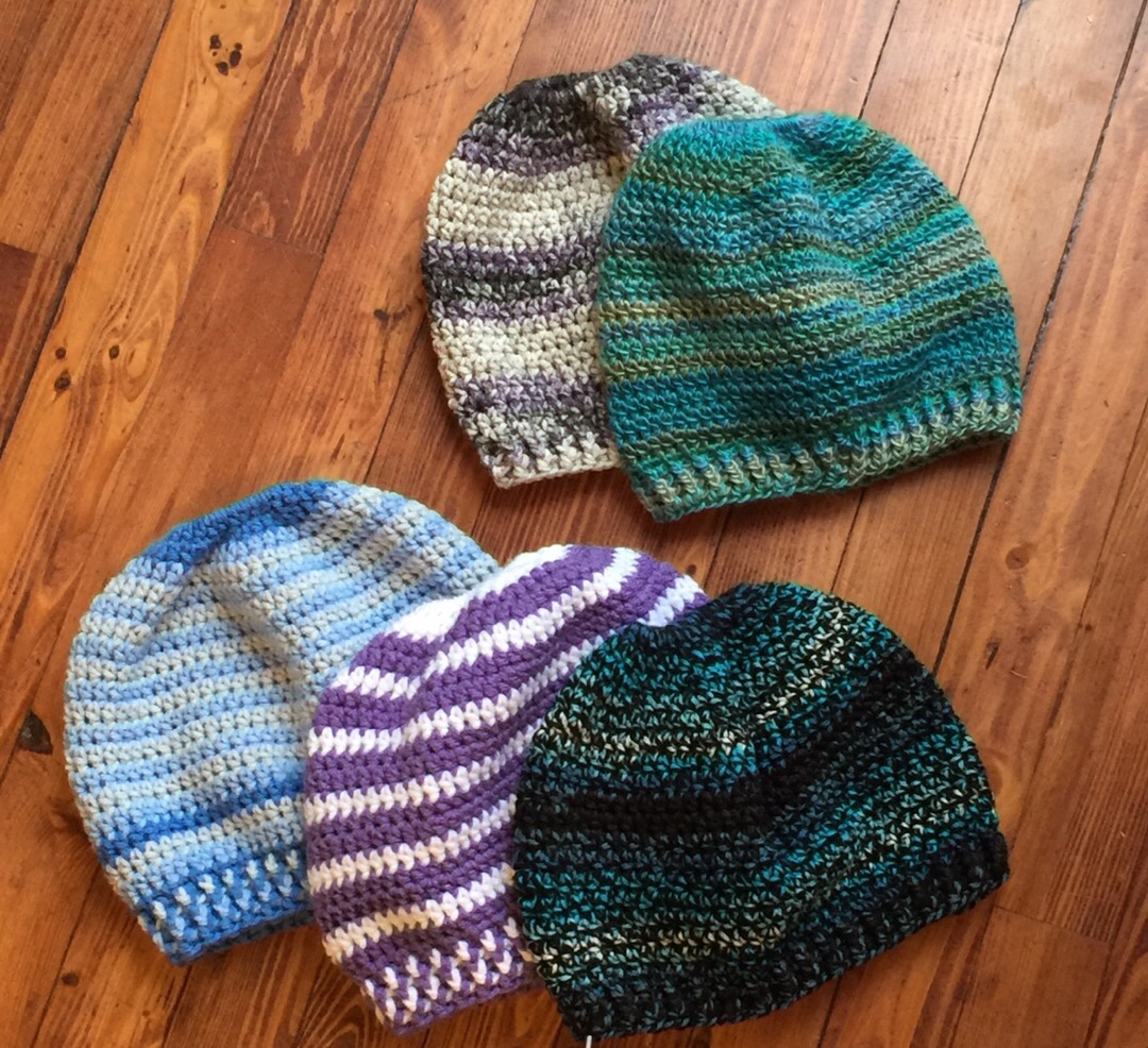Beginner Messy Bun Hat Crochet Pattern Ambassador Crochet