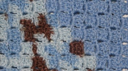 Shades of Blue Baby Blanket – Free Crochet Pattern