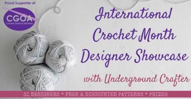 International Crochet Month Designer Showcase 2019