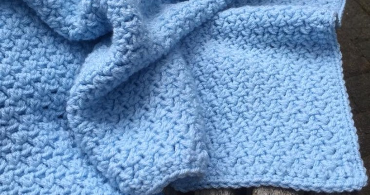 Dream Weaver Baby Blanket Crochet Pattern