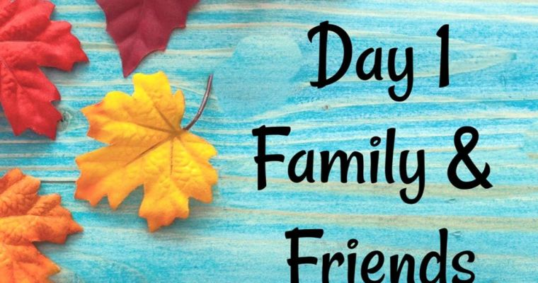 10 Days of Thanksgiving Annual Event – Day 1