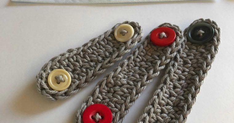 Free Ear Saver Crochet Pattern