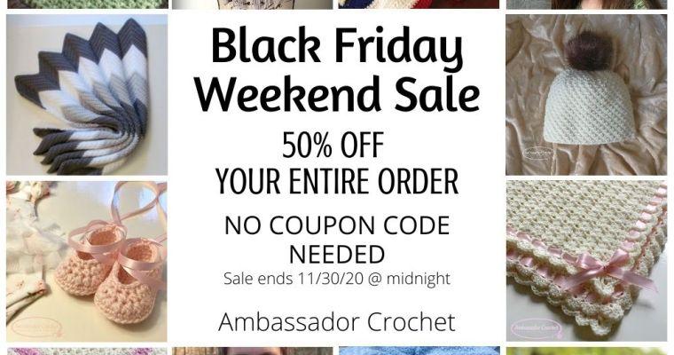 Black Friday Weekend Sale 2020