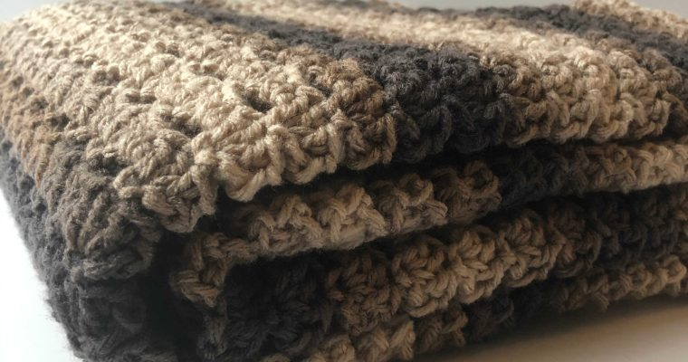 Rocky Road Blanket Crochet Pattern
