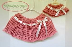 Free Mini Poncho Crochet Pattern - Hooked On Patterns   197x300