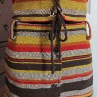 Vintage 60's 70's Bobbie Brooks 2 piece dress detail