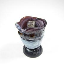 vintage slag glass owl imperial