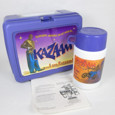 Vintage Kazaam Lunchbox and Thermos