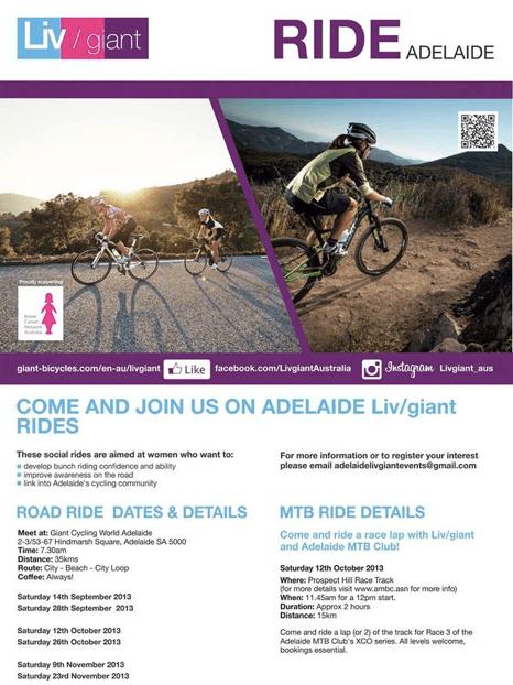 Liv/Giant Adelaide