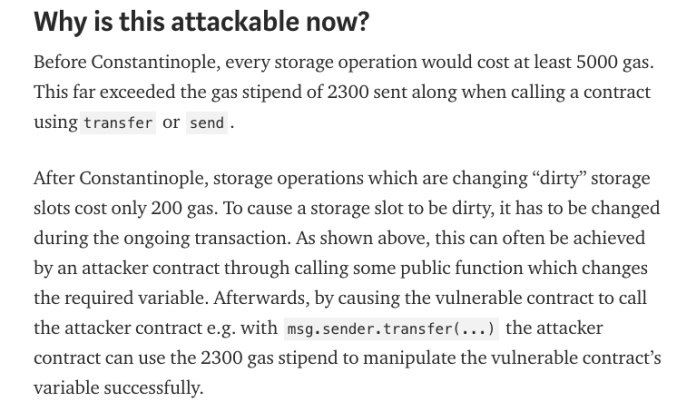Why smart contracts are vulnerable to the attack | Source: Trading View