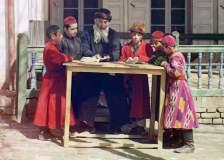 Estudiants jueus a la Samarcanda de 1910