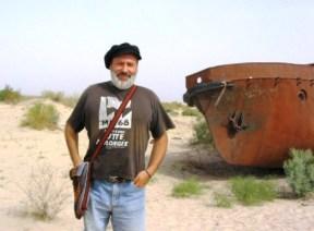 Mar d'Aral a prop de Moynaq (Uzbekistan)