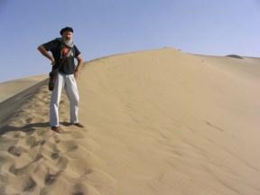 A les dunes cantaires de Mingsha Shan (Gansu - Xina)