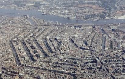 Amsterdam des del cel