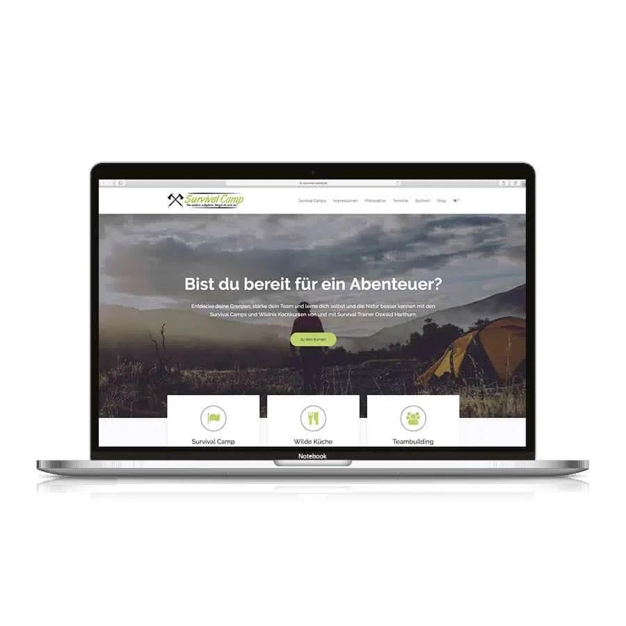 survival camp website