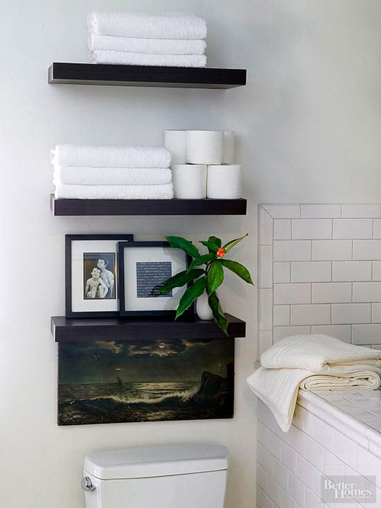 Bathroom storage over the toilet bathroom storage ideas for My bhg greenhouse