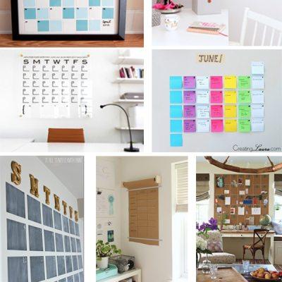 Wall Calendar Inspiration