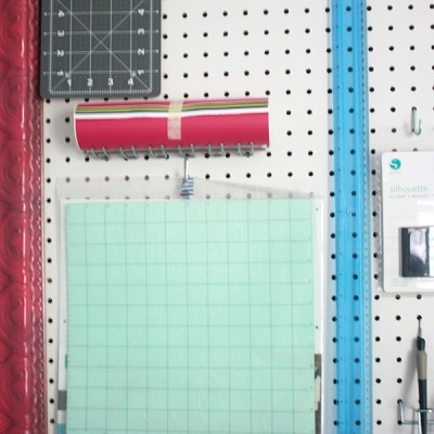 One Room Challenge: Week 2 – DIY Peg Board