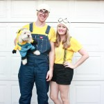 Minion costumes for the whole family! How to make your own DIY minion costumes